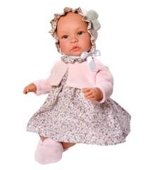 Asi - Leonora dukke i blomsterkjole, 46 cm