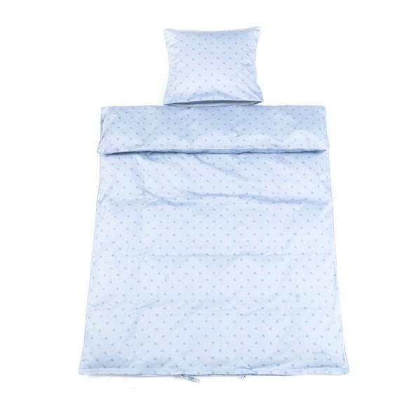 Smallstuff - Baby Bedding 70x100 cm - Light Blue Starut