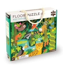Petit Collage - Floor puzzle with Wild Rainforest Floor , 24 pcs