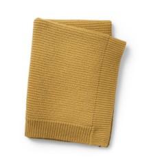 Elodie Details - Uldstrikket Tæppe - Gold