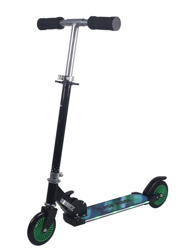 Foldbart Skate Løbehjul med Lys (60118)