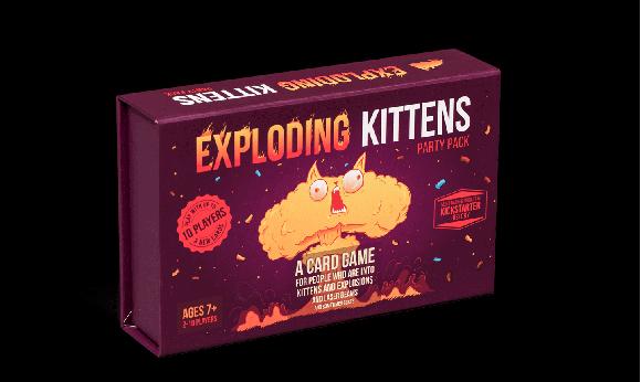 Exploding Kittens - Party Pack (EKGPPG)