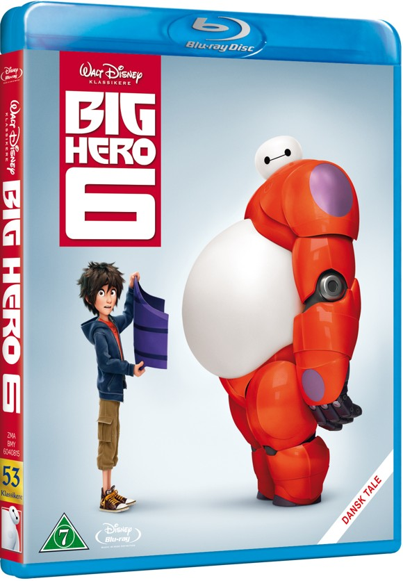 Disneys Big Hero 6 (Blu-Ray)