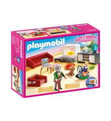Playmobil - Hyggelig stue (70207)