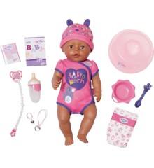 Baby Born - Blød pige dukke med brune øjne 43cm (824382)
