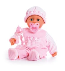 Bayer - Doll - First Word Baby soft pink 38cm (93824AA)