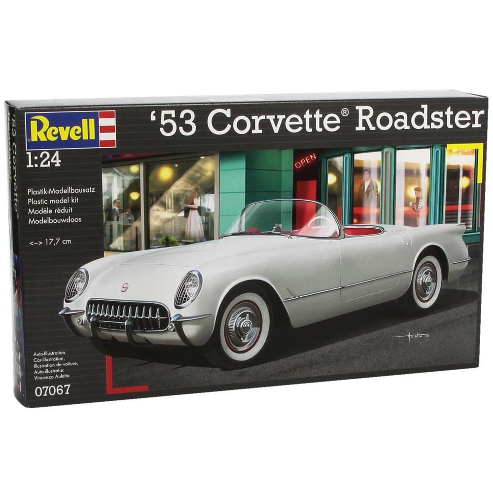 Revell /'53 Corvette Roadster 07067 1:24 Modellbausatz