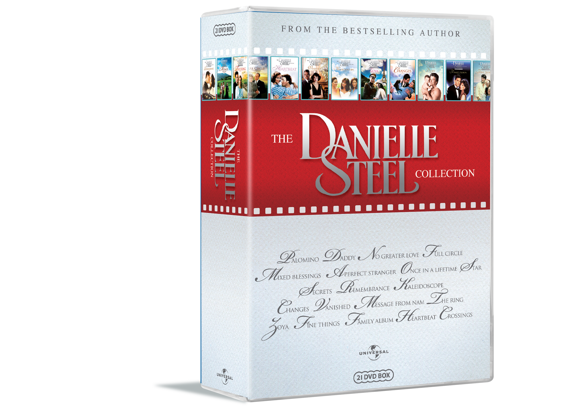 Picture of: Kob Danielle Steel Collection 21 Disc Dvd Inkl Fragt