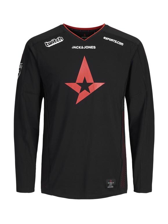 Astralis Merc Official T-Shirt LS 2019 - S