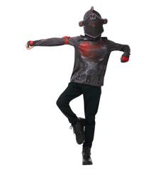 Fortnite - Black Knight - Størrelse 9-10 år (R-300193)