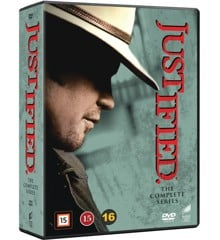 Justified: Complete Box - Season 1-6 (18 disc) - DVD