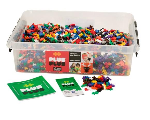 Plus Plus - Mini Basic - 3600 pcs