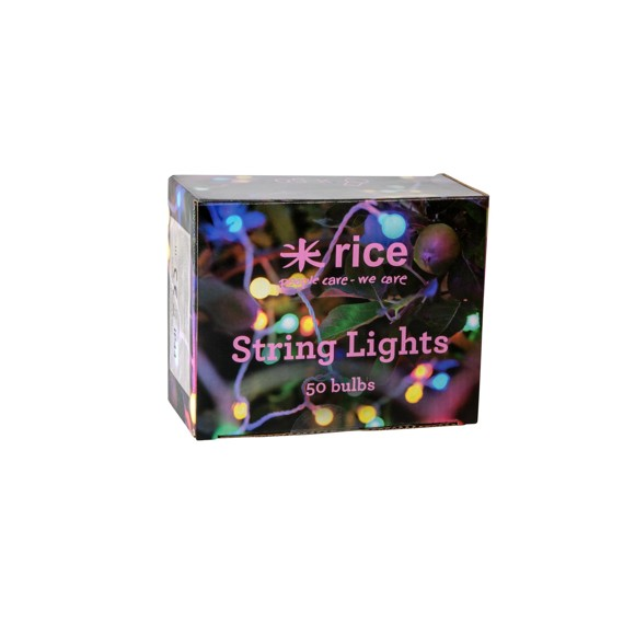 Rice - LED Lyskæde - Multi