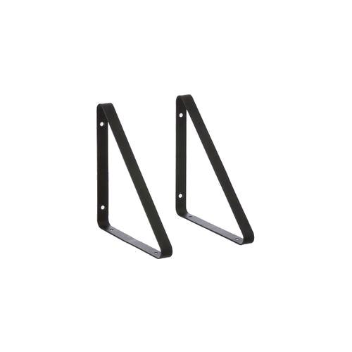 Ferm Living - Shelf Hangers set of 2 - Black (4131)