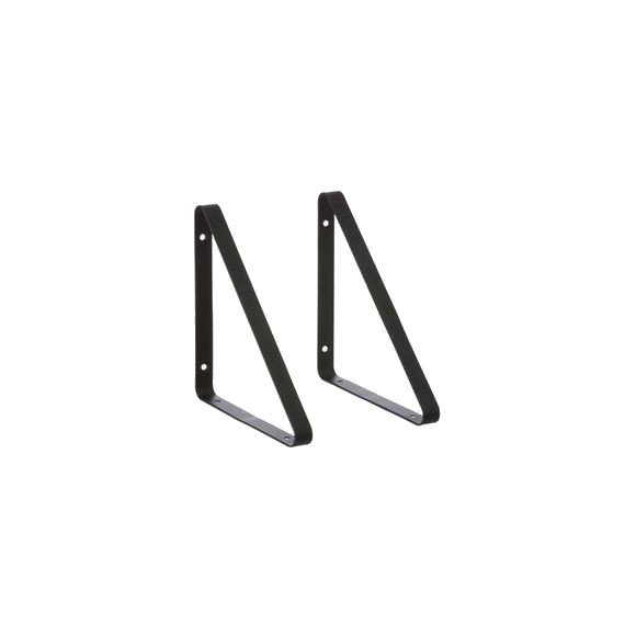 Ferm Living - Shelf Hangers set of 2 - Black (4131)