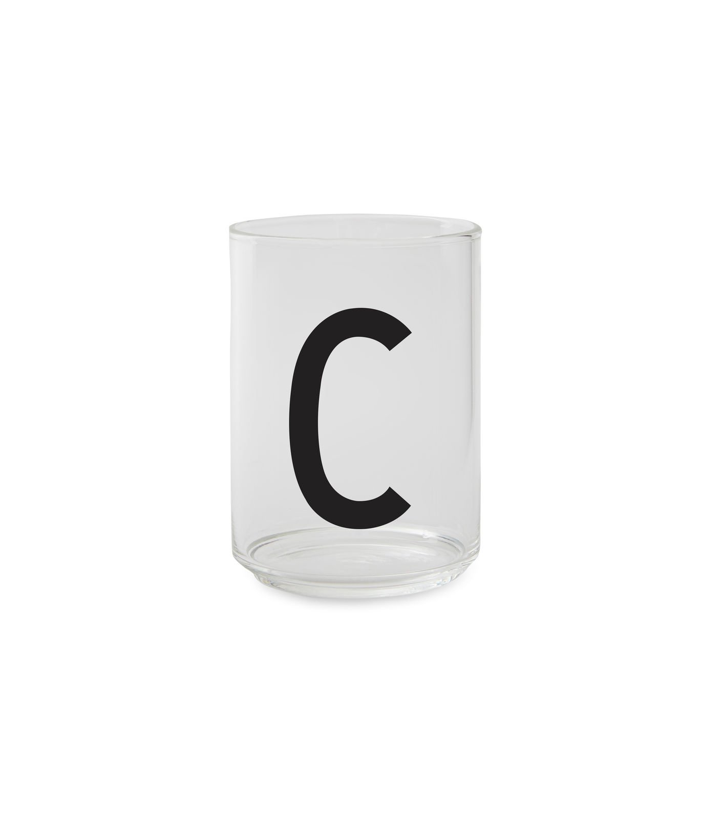 ?Design Letters - Personal Drinking Glass C (10205000C)