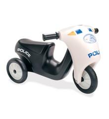 Dantoy - Politi Scooter med Gummihjul (3333)