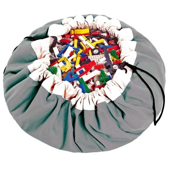 Play&Go - Playmat and Storage Bag - Grey