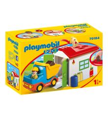 Playmobil  1.2.3 - Garbage Truck (70184)