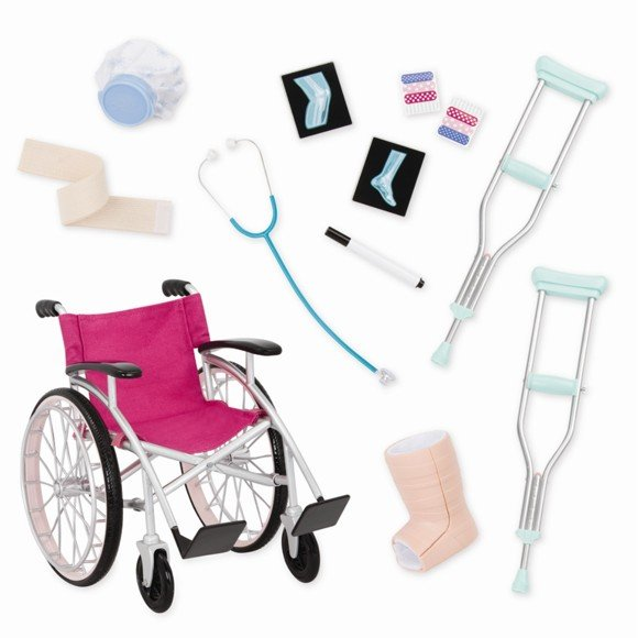 Our Generation - Hospital Set with Wheelchair (737432)