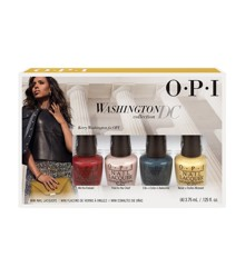 ​OPI - Neglelag Sæt - Washington Minikit 4 x 3,75 ml