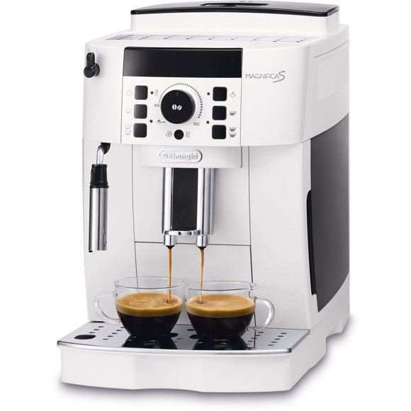 DeLonghi Magnifica Bean-to-Cup Coffee Machine, White