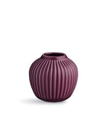 Kähler - Hammershøi Vase Small - Plum (692381)