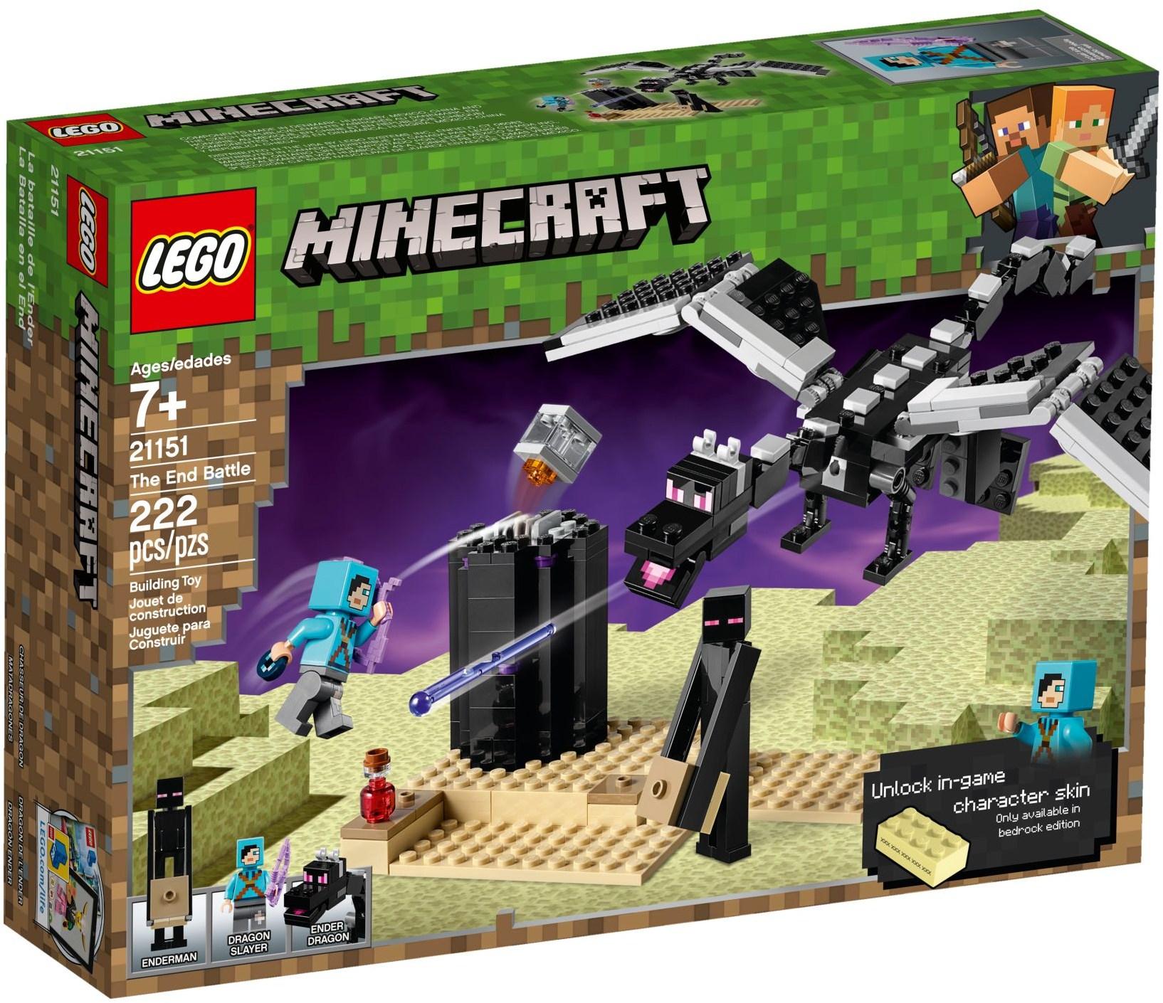 coolshop.co.uk - LEGO Minecraft – Ender-Battle (21151)