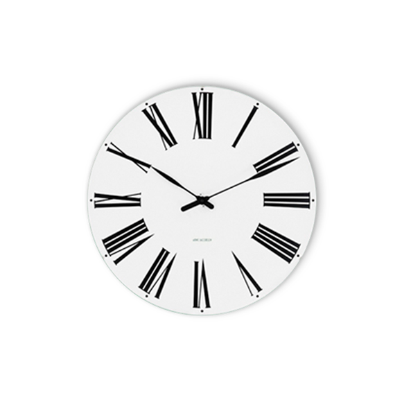 Arne Jacobsen - Romersk veggklokke Ø 29 cm