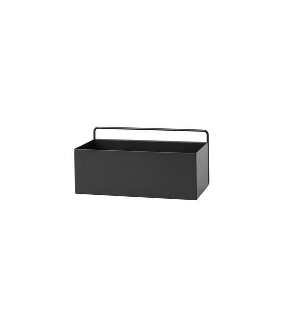 Ferm Living - Wall Box Regtangle - Black  (3348)
