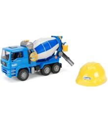 Bruder - MAN TGA 1638 Cement Mixer, with Helmet (BR1638)