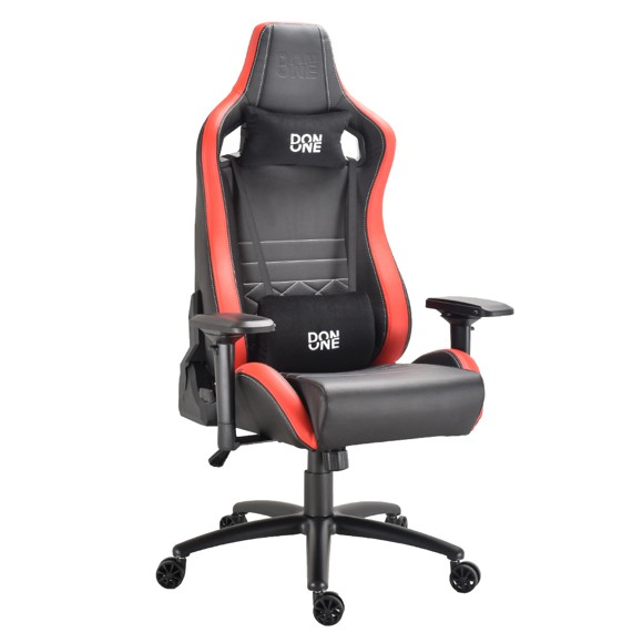 DON ONE - Gambino Gaming Chair Black/Red