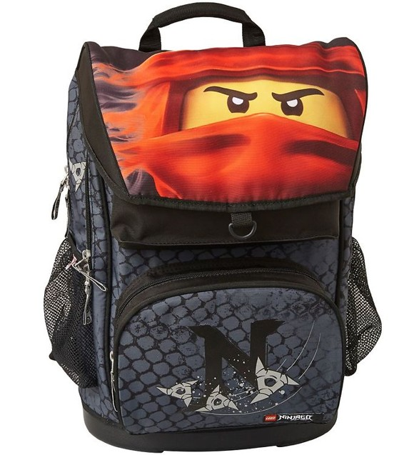 LEGO - Maxi School Bag Set (2 pcs) - Ninjago - Kai of Fire (20110-2001)