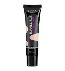 L'Oréal - Infallible Total Cover Foundation - Porcelain
