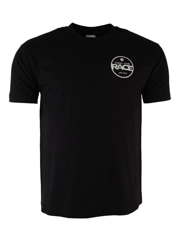 Cool Car Race 'Race' T-shirt - Sort