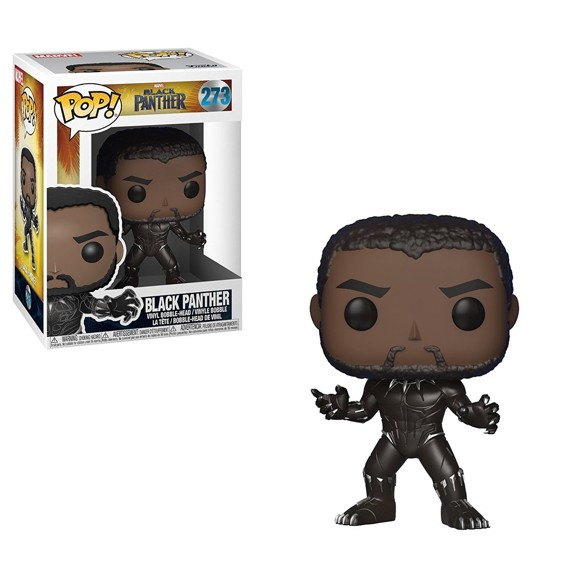 Marvel Black Panther - Black Panther Funko Pop! Vinyl Figure