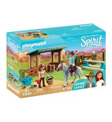 Playmobil - Ridebane med Lucky og Javier (70119)