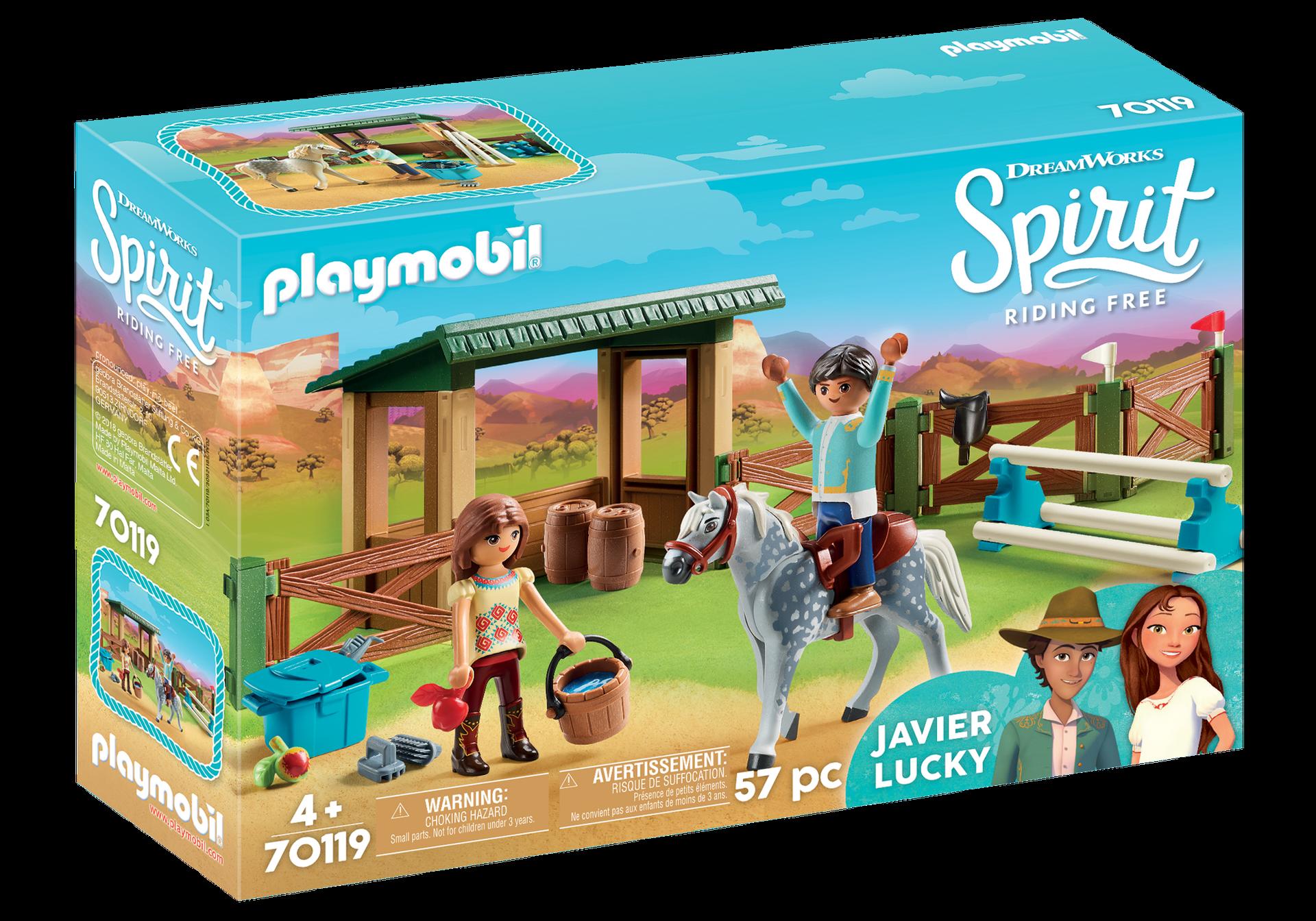 Playmobil - Riding Arena with Lucky & Javier (70119)