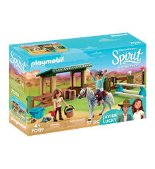 Playmobil - Riding Arena with Lucky & Javier (70119)