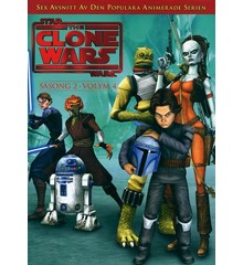 Star Wars - The Clone Wars - Season 2 vol 4 - DVD