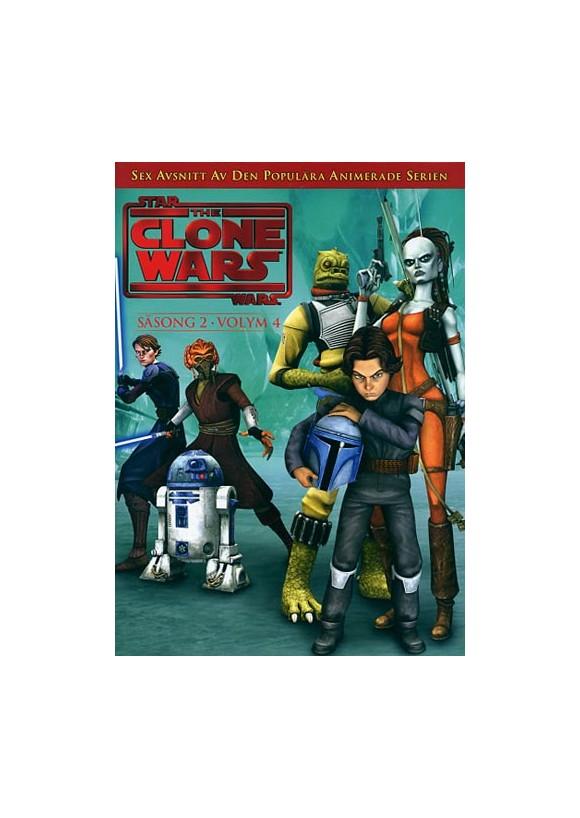 Star Wars - The Clone Wars - Season 2 vol 4 - DVD