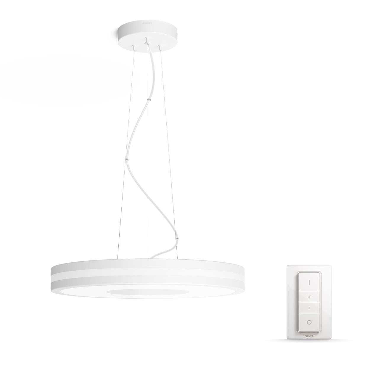 Philips Hue - Being Pendant Lamp  White (Dimmer Included) - White Ambiance - E