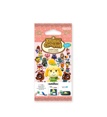 Animal Crossing: Happy Home Designer amiibo Card Pack (Series 4)