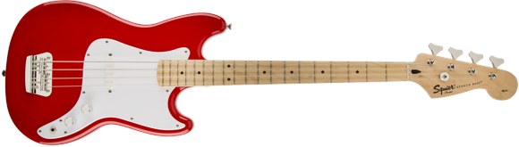Squier By Fender - Bronco SS - Junior 3/4 Electric Bass (Torino Red)