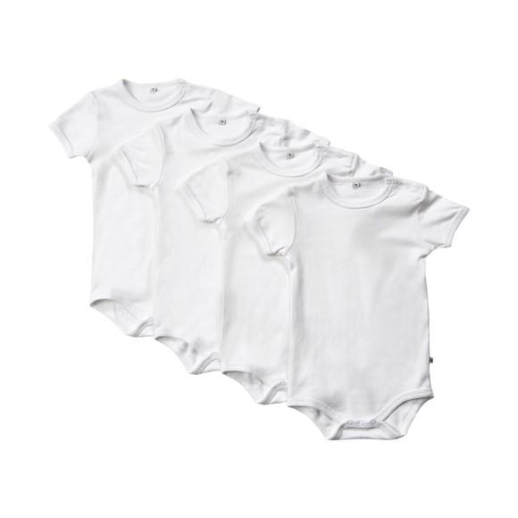 Pippi - S.S Body 4-pack - White