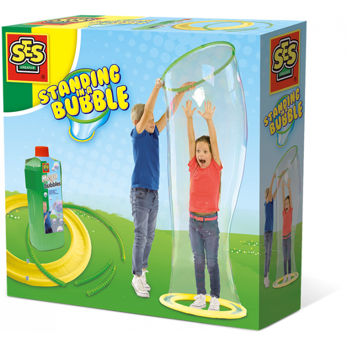 SES Creative - Standing in a mega bubble