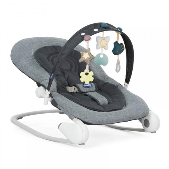 Chicco - Bouncing Chair Hoopla - Dark Grey