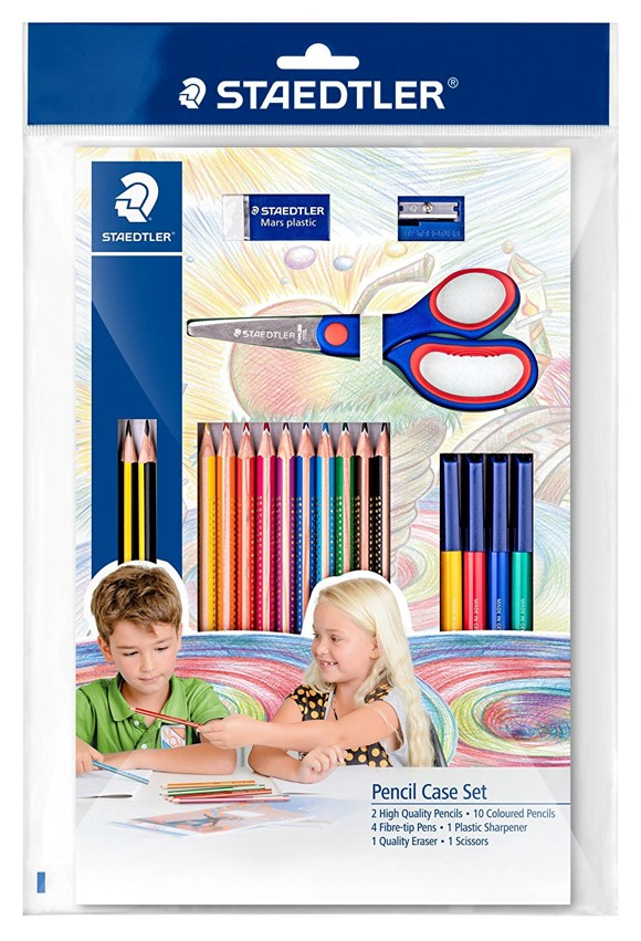 Staedtler - School Pencil Case Set (61SET43)