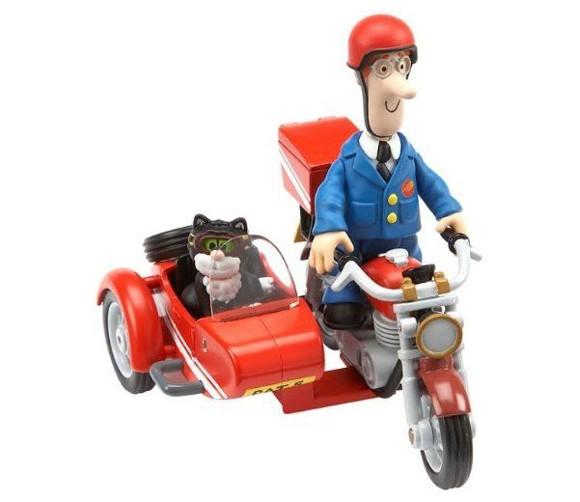 Postmand Per - Motorcykel med Figur