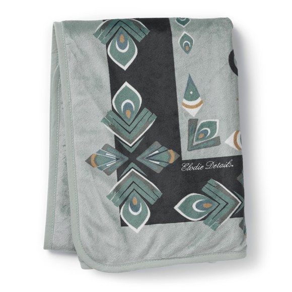 Elodie Details - Velvet Blanket - Everest Feathers